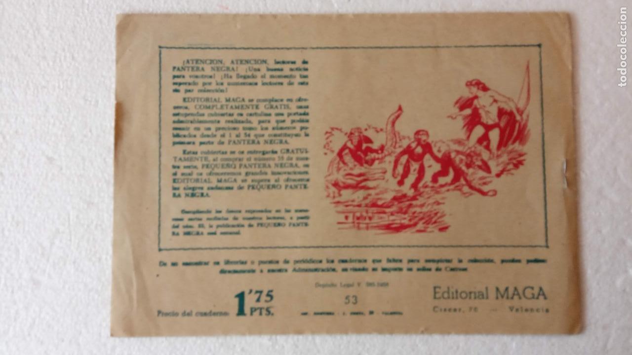 Tebeos: PANTERA NEGRA ORIGINAL COMPLETA 1,25 pts - ED. MAGA 1956 - 1 AL 54 MAGNÍFICO ESTADO, VER LAS PORTAD - Foto 98 - 236653210