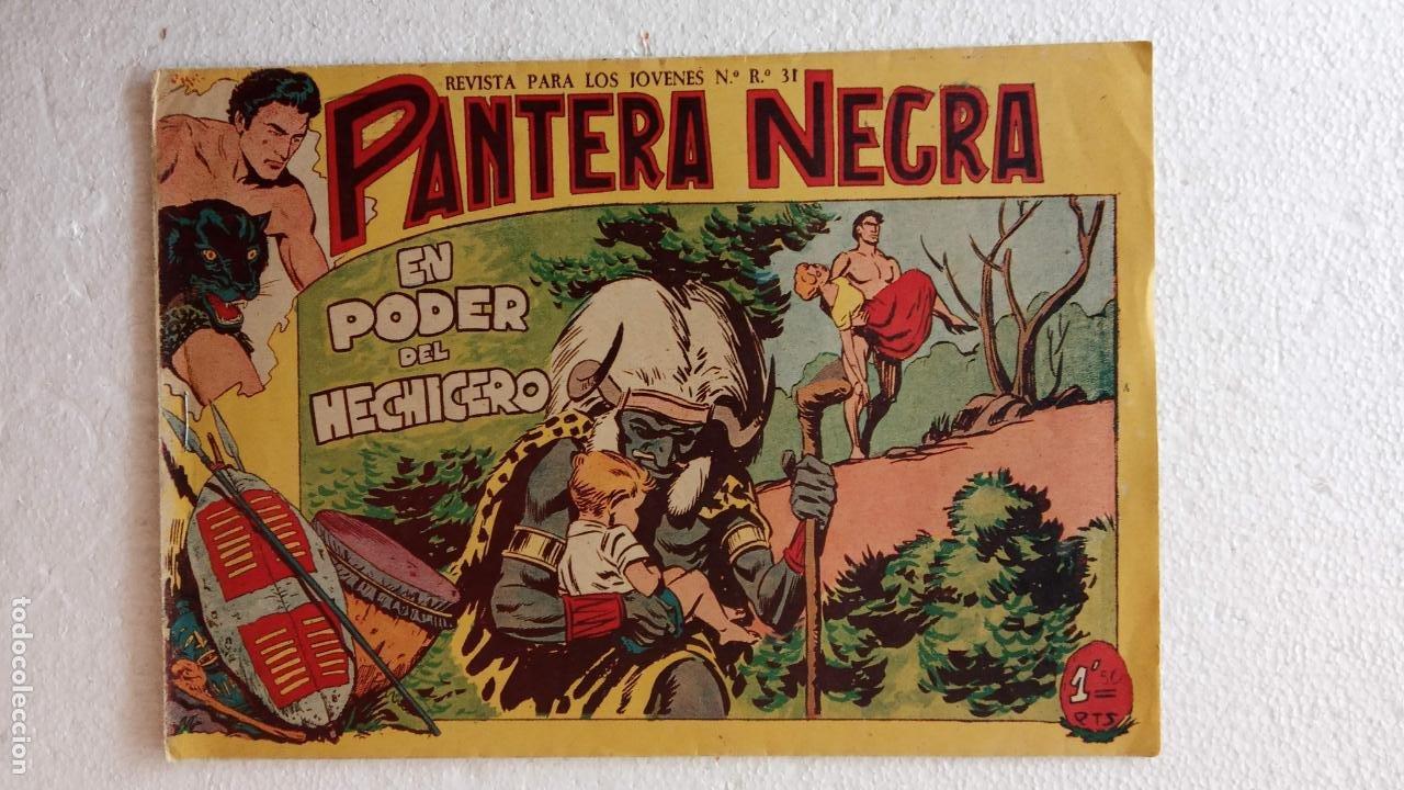 Tebeos: PANTERA NEGRA ORIGINAL COMPLETA 1,25 pts - ED. MAGA 1956 - 1 AL 54 MAGNÍFICO ESTADO, VER LAS PORTAD - Foto 99 - 236653210