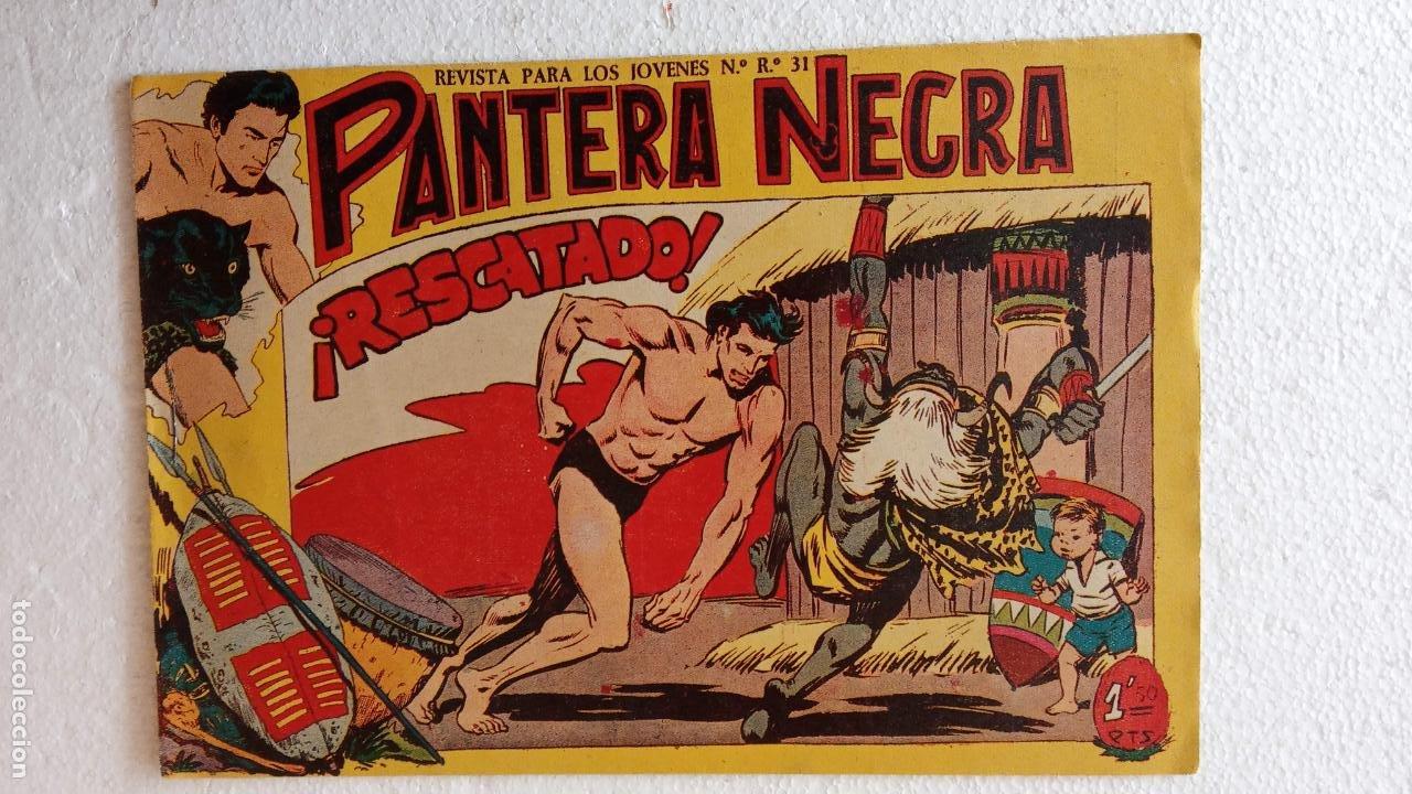 Tebeos: PANTERA NEGRA ORIGINAL COMPLETA 1,25 pts - ED. MAGA 1956 - 1 AL 54 MAGNÍFICO ESTADO, VER LAS PORTAD - Foto 100 - 236653210