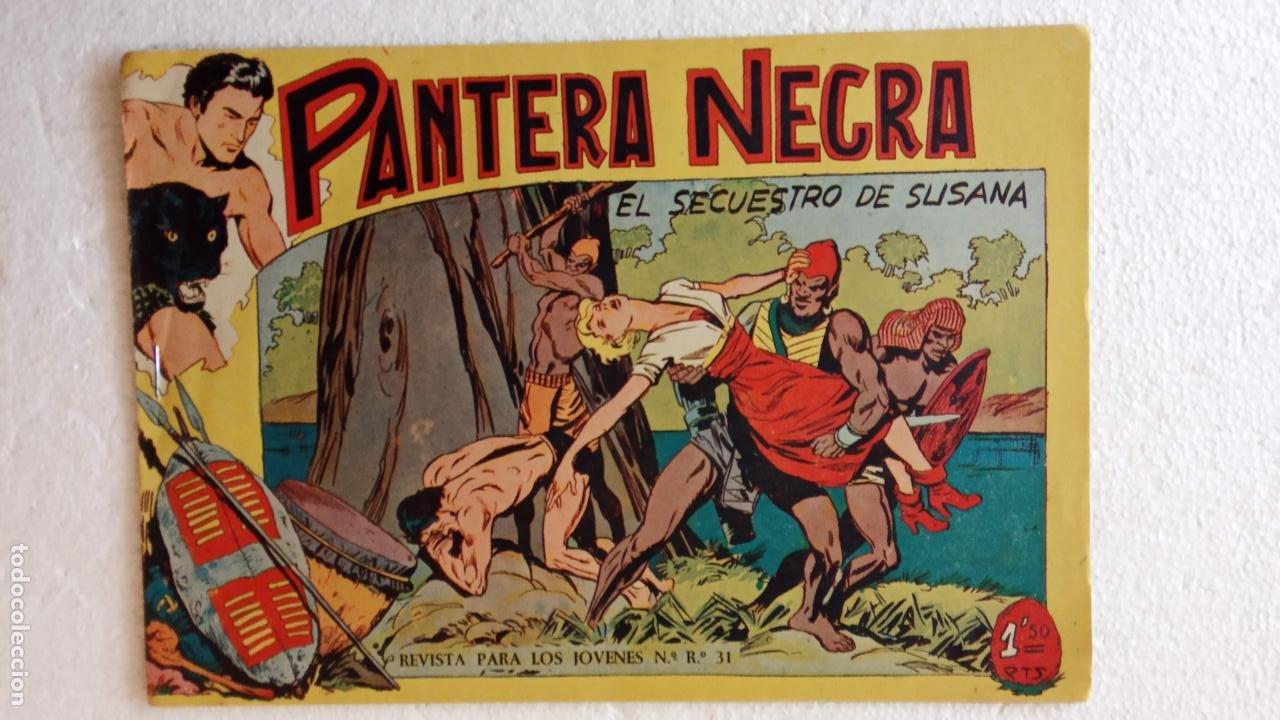 Tebeos: PANTERA NEGRA ORIGINAL COMPLETA 1,25 pts - ED. MAGA 1956 - 1 AL 54 MAGNÍFICO ESTADO, VER LAS PORTAD - Foto 101 - 236653210