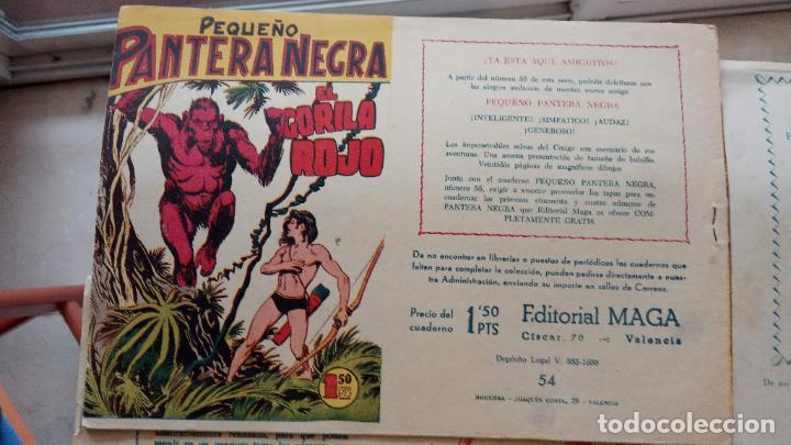 Tebeos: PANTERA NEGRA ORIGINAL COMPLETA 1,25 pts - ED. MAGA 1956 - 1 AL 54 MAGNÍFICO ESTADO, VER LAS PORTAD - Foto 102 - 236653210