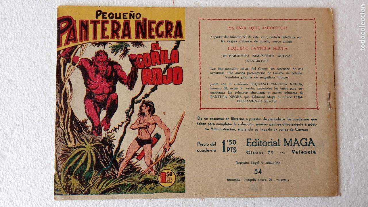 Tebeos: PANTERA NEGRA ORIGINAL COMPLETA 1,25 pts - ED. MAGA 1956 - 1 AL 54 MAGNÍFICO ESTADO, VER LAS PORTAD - Foto 103 - 236653210