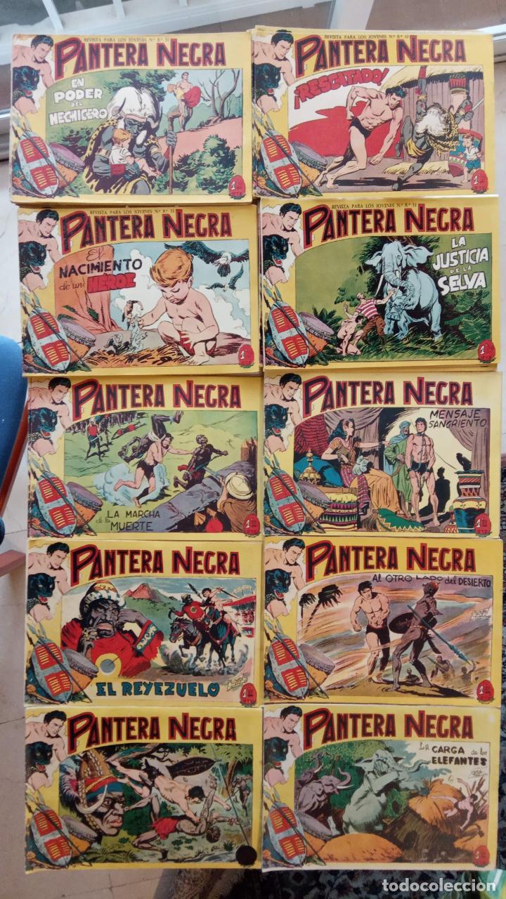 PANTERA NEGRA ORIGINAL COMPLETA 1,25 PTS - ED. MAGA 1956 - 1 AL 54 MAGNÍFICO ESTADO, VER LAS PORTAD (Tebeos y Comics - Maga - Pantera Negra)