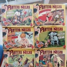 Tebeos: PANTERA NEGRA ORIGINAL COMPLETA 1,25 PTS - ED. MAGA 1956 - 1 AL 54 MAGNÍFICO ESTADO, VER LAS PORTAD. Lote 236653210