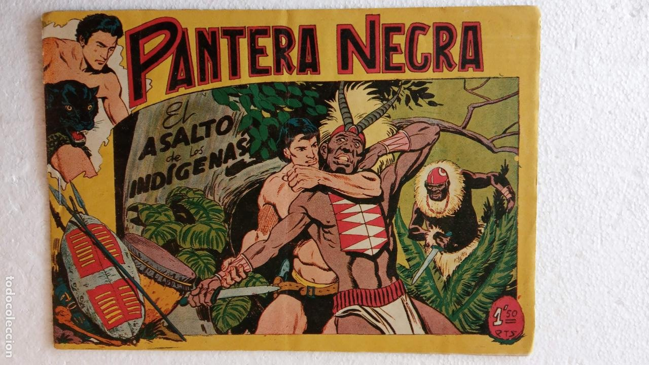 Tebeos: PANTERA NEGRA ORIGINAL COMPLETA 1,25 pts - ED. MAGA 1956 - 1 AL 54 MAGNÍFICO ESTADO, VER LAS PORTAD - Foto 104 - 236653210