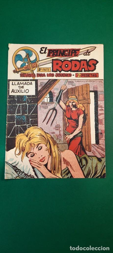 PRINCIPE DE RODAS, EL (1962, MAGA) -2ª PARTE- 30 · 13-XI-1962 · LLAMADA DE AUXILIO (Tebeos y Comics - Maga - Otros)