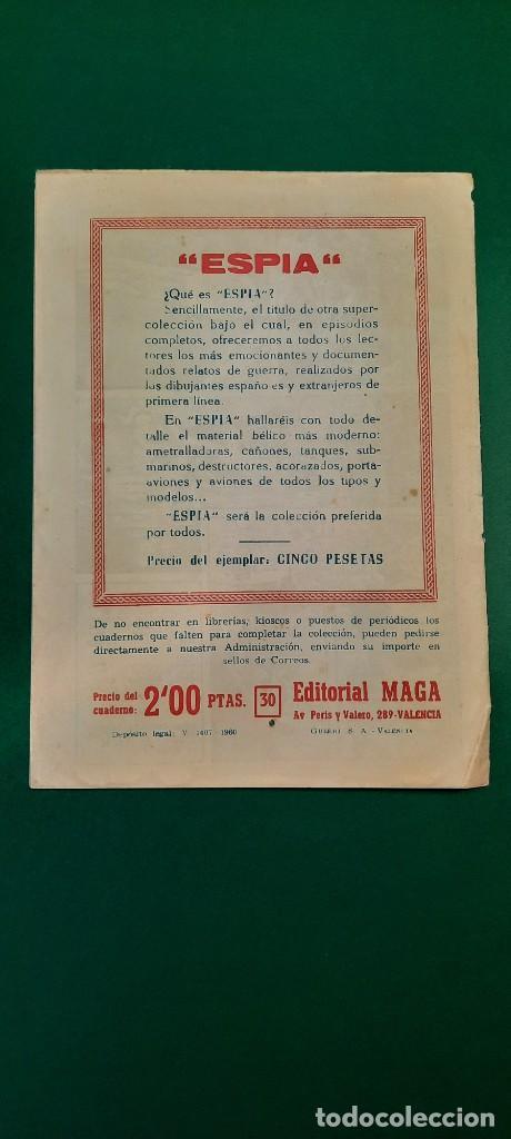 Tebeos: PRINCIPE DE RODAS, EL (1962, MAGA) -2ª PARTE- 30 · 13-XI-1962 · LLAMADA DE AUXILIO - Foto 2 - 236670855