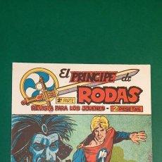 Livros de Banda Desenhada: PRINCIPE DE RODAS, EL (1962, MAGA) -2ª PARTE- 33 · 4-XII-1962 · A CUERPO LIMPIO. Lote 236687720