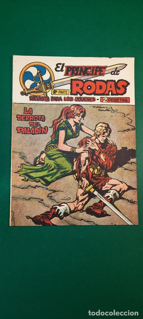PRINCIPE DE RODAS, EL (1962, MAGA) -2ª PARTE- 35 · 18-XII-1962 · LA DERROTA DEL PALADÍN (Tebeos y Comics - Maga - Otros)
