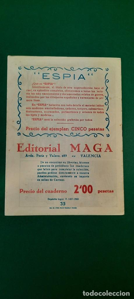 Tebeos: PRINCIPE DE RODAS, EL (1962, MAGA) -2ª PARTE- 35 · 18-XII-1962 · LA DERROTA DEL PALADÍN - Foto 2 - 236688205