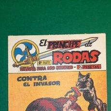 Livros de Banda Desenhada: PRINCIPE DE RODAS, EL (1962, MAGA) -2ª PARTE- 36 · 25-XII-1962 · CONTRA EL INVASOR. Lote 236688860