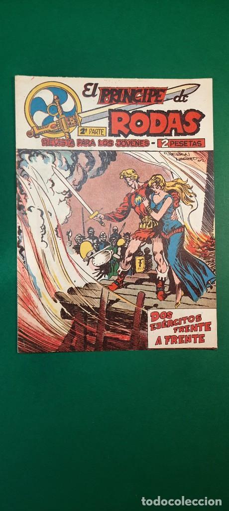 PRINCIPE DE RODAS, EL (1962, MAGA) -2ª PARTE- 37 · 1-I-1963 · DOS EJÉRCITOS FRENTE A FRENTE (Tebeos y Comics - Maga - Otros)