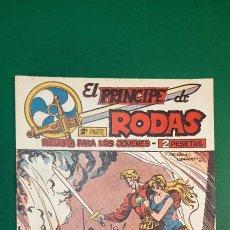 Tebeos: PRINCIPE DE RODAS, EL (1962, MAGA) -2ª PARTE- 37 · 1-I-1963 · DOS EJÉRCITOS FRENTE A FRENTE. Lote 236689010
