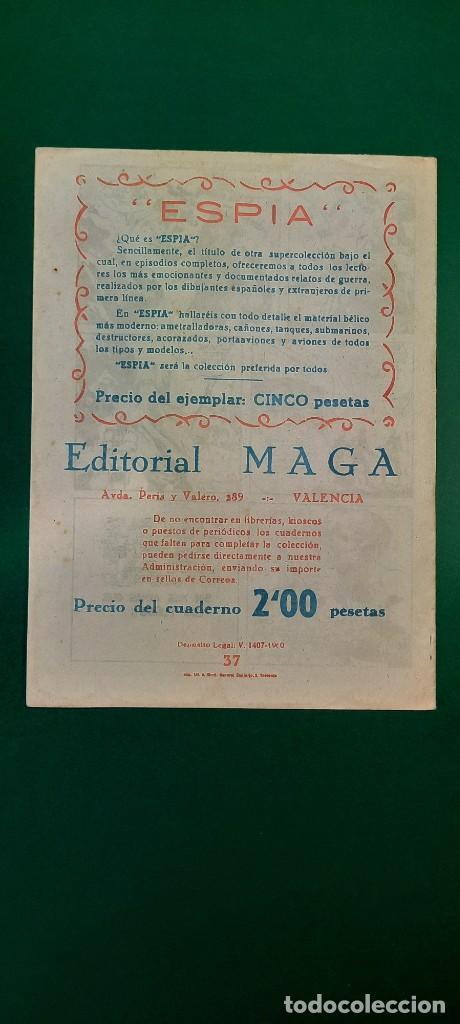 Tebeos: PRINCIPE DE RODAS, EL (1962, MAGA) -2ª PARTE- 37 · 1-I-1963 · DOS EJÉRCITOS FRENTE A FRENTE - Foto 2 - 236689010