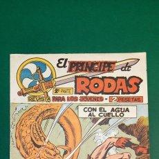 Tebeos: PRINCIPE DE RODAS, EL (1962, MAGA) -2ª PARTE- 41 · 29-I-1963 · CON EL AGUA AL CUELLO. Lote 236695715