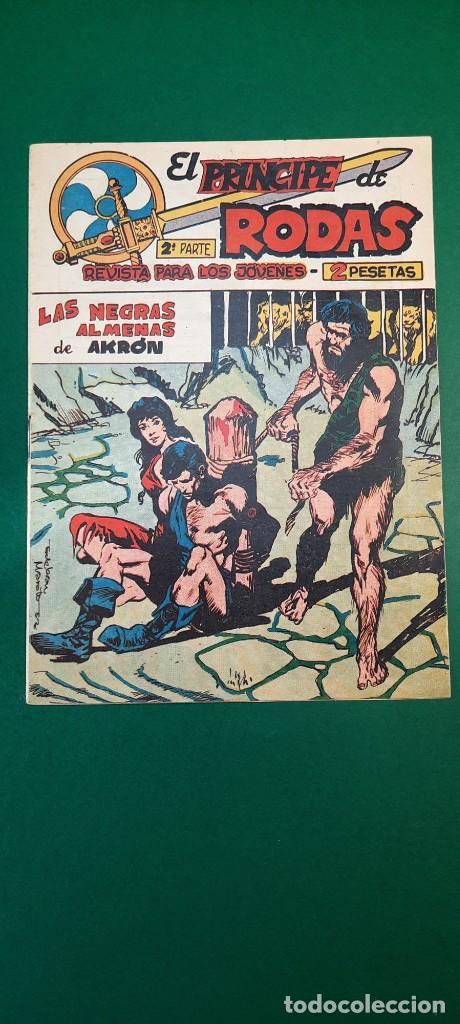 PRINCIPE DE RODAS, EL (1962, MAGA) -2ª PARTE- 42 · 5-II-1963 · LAS NEGRAS ALMENAS DE AKRÓN (Tebeos y Comics - Maga - Otros)