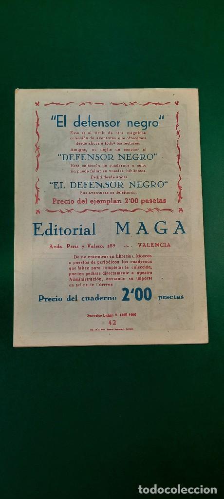Tebeos: PRINCIPE DE RODAS, EL (1962, MAGA) -2ª PARTE- 42 · 5-II-1963 · LAS NEGRAS ALMENAS DE AKRÓN - Foto 2 - 236696010