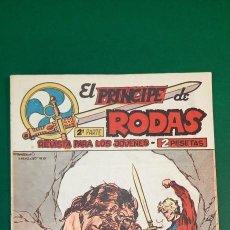 Livros de Banda Desenhada: PRINCIPE DE RODAS, EL (1962, MAGA) -2ª PARTE- 44 · 19-II-1963 · BOGODAI EL TURCOMANO. Lote 236696650