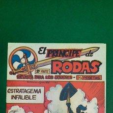 Livros de Banda Desenhada: PRINCIPE DE RODAS, EL (1962, MAGA) -2ª PARTE- 46 · 5-III-1963 · ESTRATAGEMA INFALIBLE. Lote 236697265