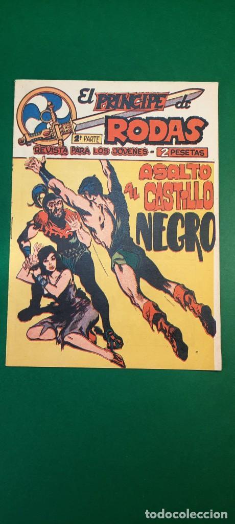 PRINCIPE DE RODAS, EL (1962, MAGA) -2ª PARTE- 48 · 19-III-1963 · ASALTO AL CASTILLO NEGRO (Tebeos y Comics - Maga - Otros)