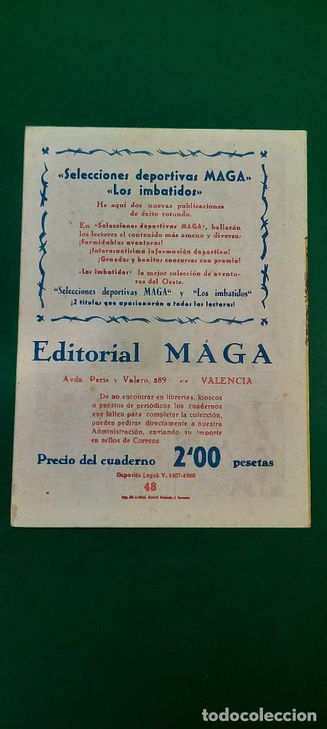 Tebeos: PRINCIPE DE RODAS, EL (1962, MAGA) -2ª PARTE- 48 · 19-III-1963 · ASALTO AL CASTILLO NEGRO - Foto 2 - 236698765