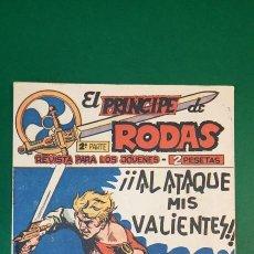 Livros de Banda Desenhada: PRINCIPE DE RODAS, EL (1962, MAGA) -2ª PARTE- 49 · 26-III-1963 · ¡¡AL ATAQUE MIS VALIENTES!!. Lote 236699060