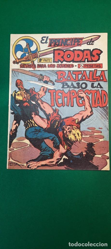 PRINCIPE DE RODAS, EL (1962, MAGA) -2ª PARTE- 50 · 2-IV-1963 · BATALLA BAJO LA TEMPESTAD (Tebeos y Comics - Maga - Otros)
