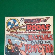 Tebeos: PRINCIPE DE RODAS, EL (1962, MAGA) -2ª PARTE- 50 · 2-IV-1963 · BATALLA BAJO LA TEMPESTAD. Lote 236699485