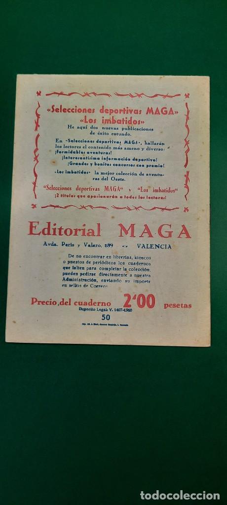 Tebeos: PRINCIPE DE RODAS, EL (1962, MAGA) -2ª PARTE- 50 · 2-IV-1963 · BATALLA BAJO LA TEMPESTAD - Foto 2 - 236699485