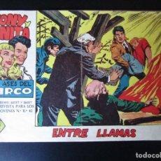 Tebeos: TONY Y ANITA (1960, MAGA) 32 · 15-II-1961 · ENTRE LLAMAS. Lote 236748725