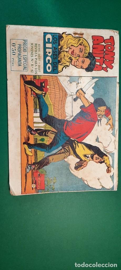 TONY Y ANITA (1960, MAGA) 1 · 13-VII-1960 · TONY Y ANITA. LOS ASES DEL CIRCO (Tebeos y Comics - Maga - Tony y Anita)