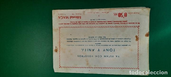 Tebeos: TONY Y ANITA (1960, MAGA) 1 · 13-VII-1960 · TONY Y ANITA. LOS ASES DEL CIRCO - Foto 2 - 236749360