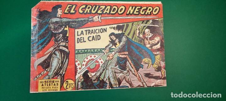 CRUZADO NEGRO, EL (1961, MAGA) 26 · 25-X-1961 · LA TRAICIÓN DEL CAID (Tebeos y Comics - Maga - Otros)