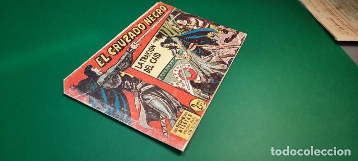 Tebeos: CRUZADO NEGRO, EL (1961, MAGA) 26 · 25-X-1961 · LA TRAICIÓN DEL CAID - Foto 3 - 236755255