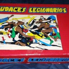 Livros de Banda Desenhada: AUDACES LEGIONARIOS. COLECCIÓN COMPLETA FACSÍMIL EN SU ESTUCHE. BASTANTE RARA DE CONSEGUIR. Lote 236819365