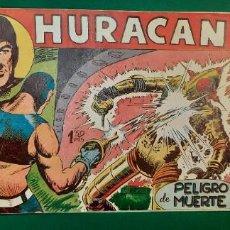 Livros de Banda Desenhada: HURACAN (1960, MAGA) 8 · 4-V-1960 · PELIGRO DE MUERTE. Lote 236858655