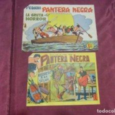 Livros de Banda Desenhada: TEBEOS . PANTERA NEGRA . MAGA , AÑOS 60 . NºS 38 - 180. Lote 237376455