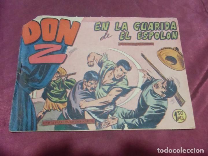 TEBEOS . DON Z . MAGA , AÑOS 60 . Nº9 (Tebeos y Comics - Maga - Don Z)