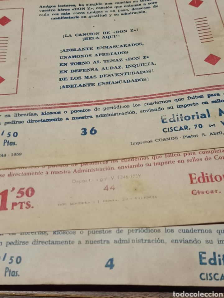 Tebeos: Don Z tres ejemplares es maga - Foto 4 - 198327575