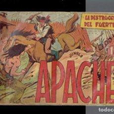Tebeos: 14 COMICS DE LA COLECCION APACHE EDITORIAL MAGA 1956 N,11-22-13-6-26-28-30-34-41-45-51-55-56-39. Lote 237478715