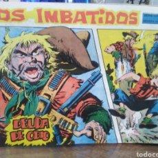 Tebeos: LOS IMBATIDOS-DEUDA DE ODIO-SERIE LOS TRES BILL-N°1-AÑO 1963. Lote 237650025