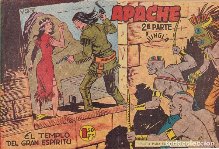APACHE 2ª PARTE: NUMERO 38 EL TEMPLO DEL GRAN ESPIRITU, EDITORIAL MAGA (Tebeos y Comics - Maga - Otros)