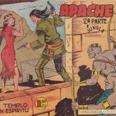 Tebeos: APACHE 2ª PARTE: NUMERO 38 EL TEMPLO DEL GRAN ESPIRITU, EDITORIAL MAGA. Lote 238255720