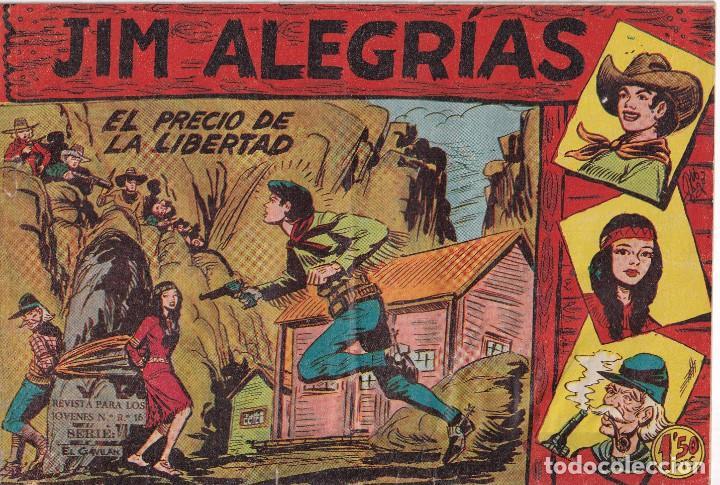 JIM ALEGRIAS: NUMERO 13 EL PRECIO DE LA LIBERTAD, EDITORIAL MAGA (Tebeos y Comics - Maga - Otros)