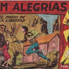 Tebeos: JIM ALEGRIAS: NUMERO 13 EL PRECIO DE LA LIBERTAD, EDITORIAL MAGA. Lote 238257525