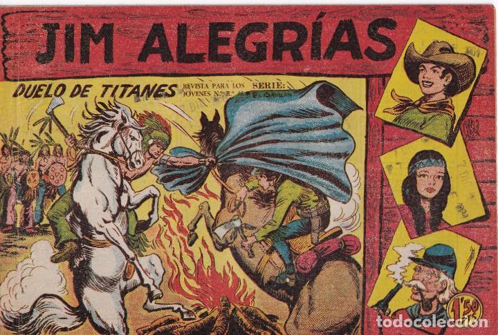 JIM ALEGRIAS: NUMERO 27 DUELO DE TITANES, EDITORIAL MAGA (Tebeos y Comics - Maga - Otros)