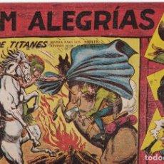 Tebeos: JIM ALEGRIAS: NUMERO 27 DUELO DE TITANES, EDITORIAL MAGA. Lote 238258360