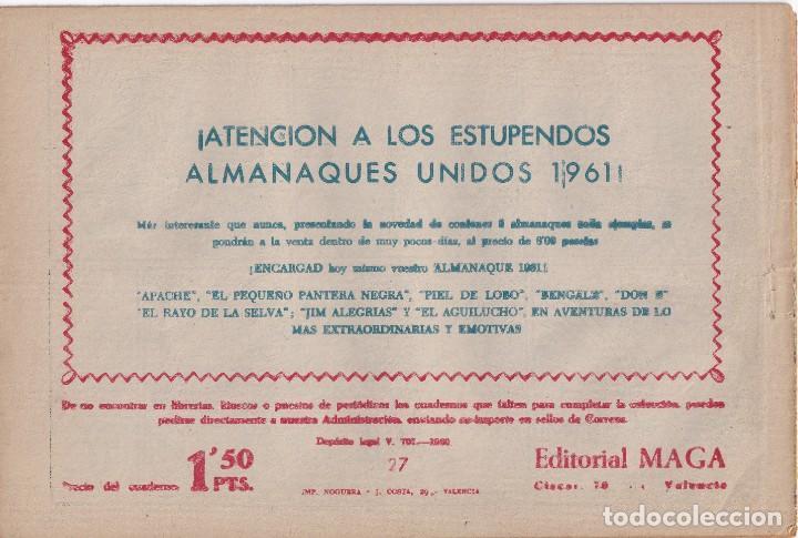 Tebeos: JIM ALEGRIAS: NUMERO 27 DUELO DE TITANES, EDITORIAL MAGA - Foto 2 - 238258360