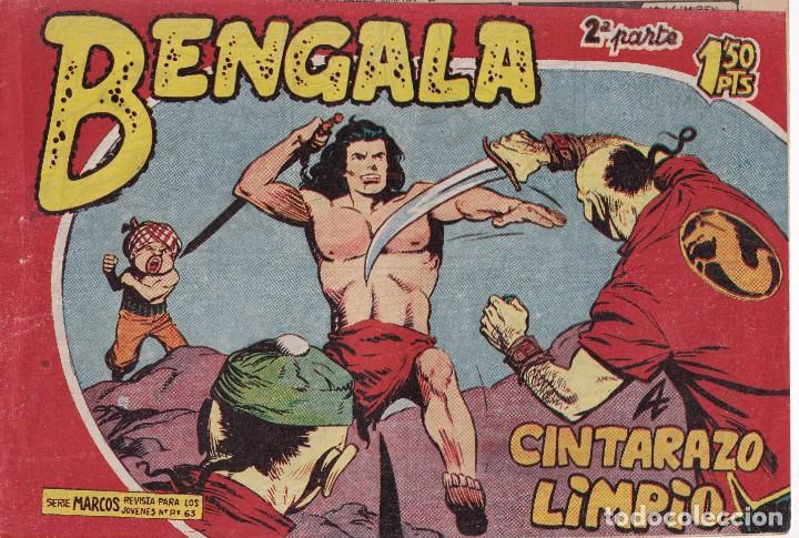 BENGALA 2ª PARTE: NUMERO 25 A CINTARAZO LIMPIO , EDITORIAL MAGA (Tebeos y Comics - Maga - Otros)