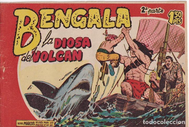 BENGALA 2ª PARTE: NUMERO 22 LA DIOSA DEL VOLCAN , EDITORIAL MAGA (Tebeos y Comics - Maga - Otros)